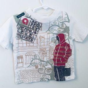 Akademics boys 2T Streetwear tshirt